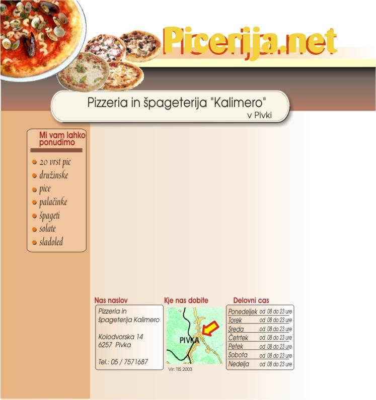 Pizzeria Kalimero